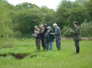 OART volunteers training for RHS surveys