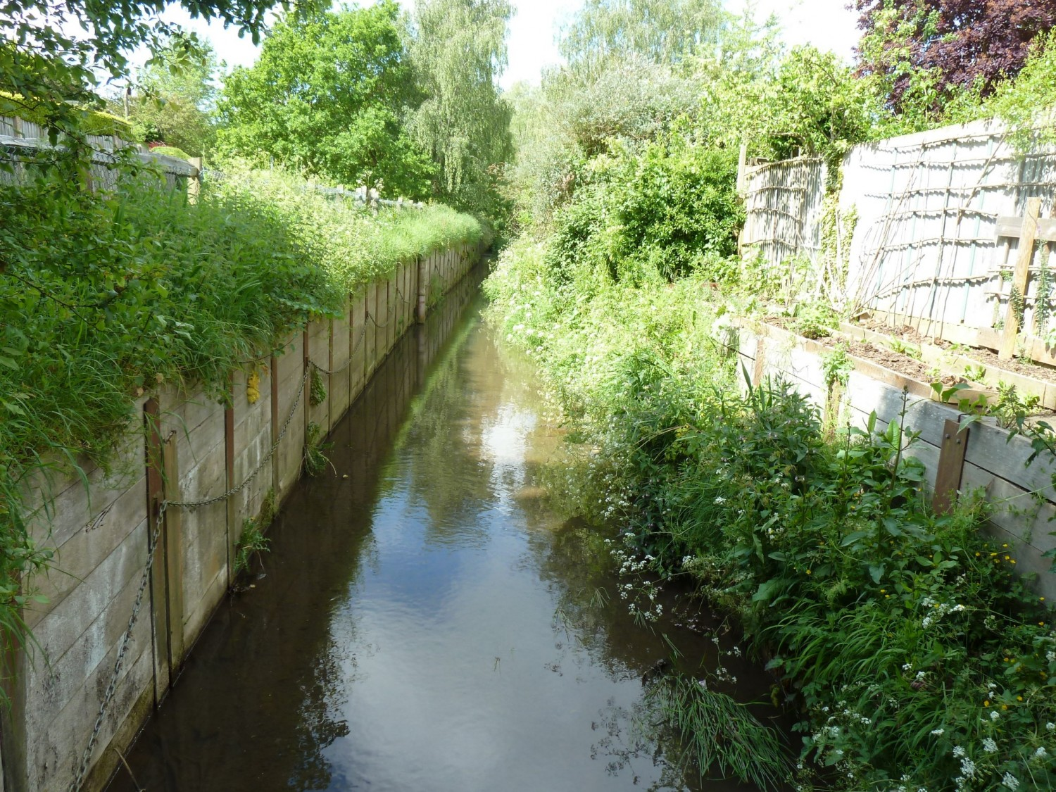 The Scrase Stream in the Centre of Lindfield