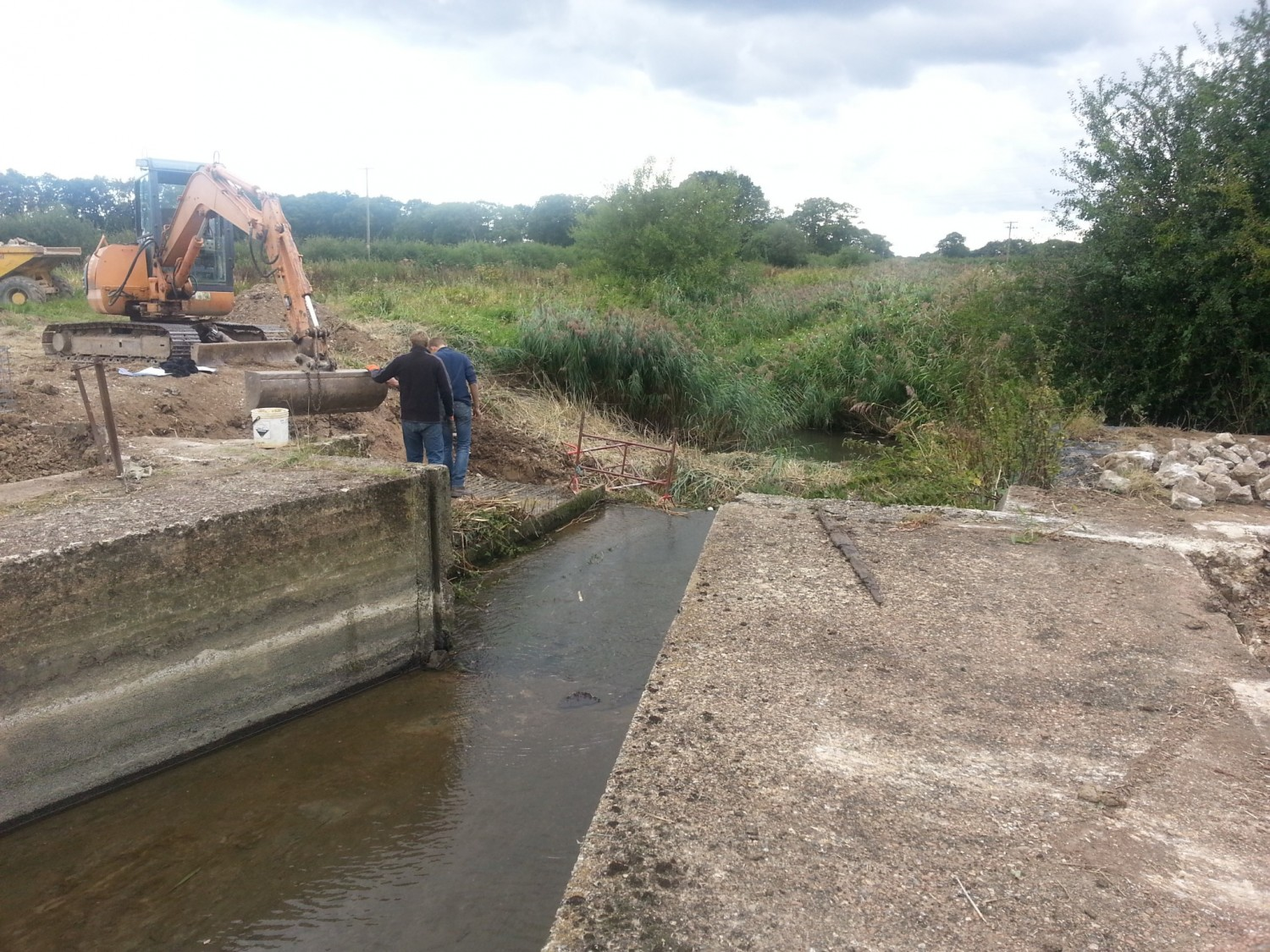 Starting the Twineham Penstock