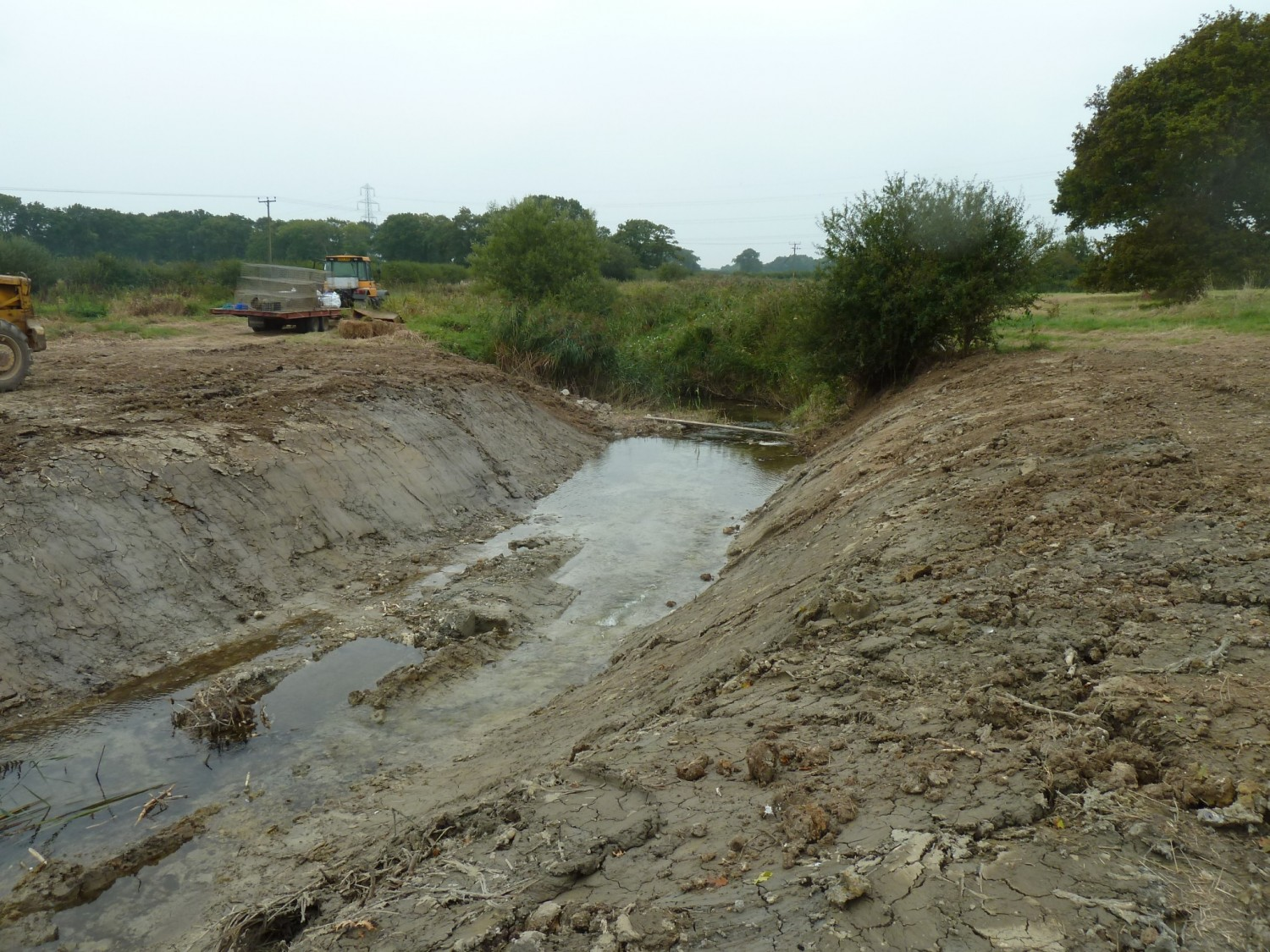 Twineham Penstock Post Removal Downstream