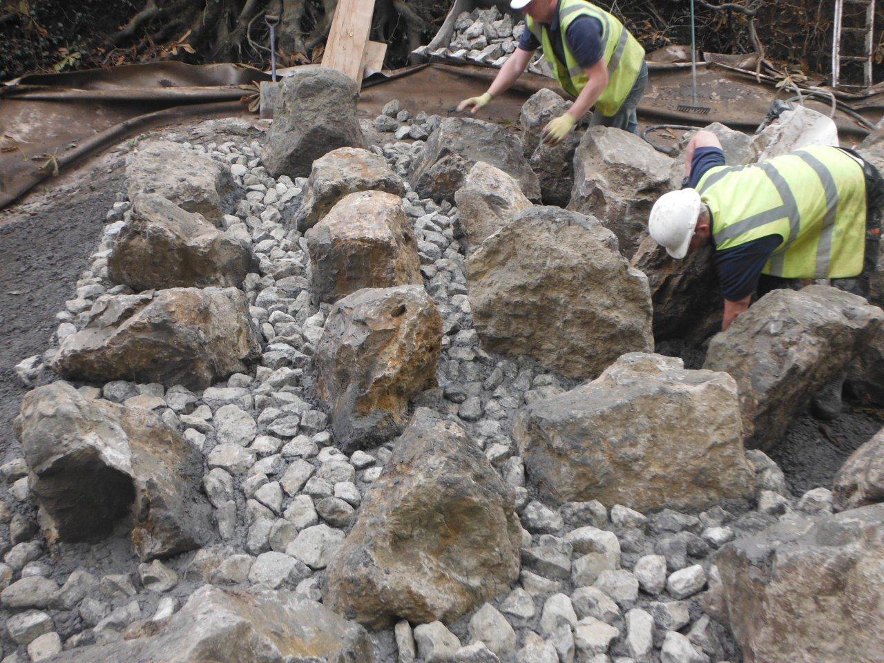 Small Stones Placed by Hand Sharpsbridge