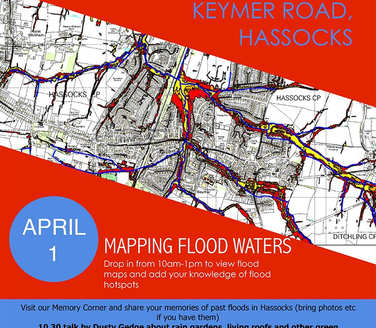 Mapping Flooding in Hassocks